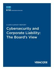 Cybersecurity and Corporate Liability The Board's View