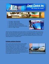 Full service transportation logistic broker