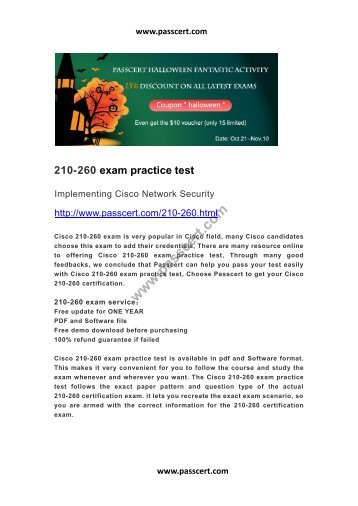 210-260 practice test