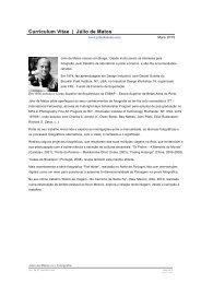 Curriculum Vitae | Júlio de Matos
