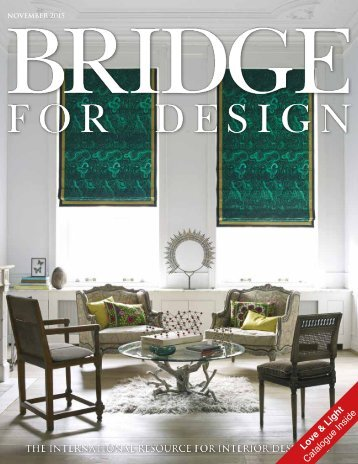 Bridge For Design November Issue