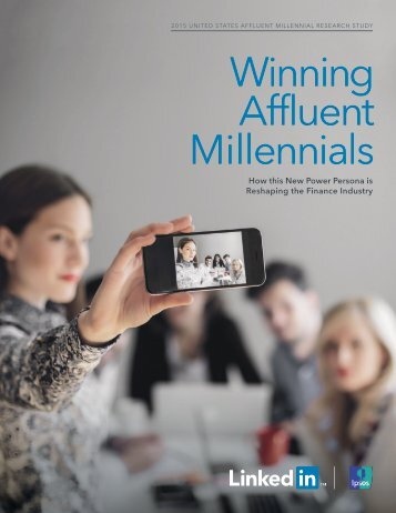 Winning Affluent Millennials