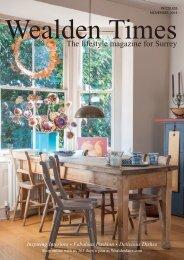 Surrey Homes   SH13   November 2015   Gift supplement inside