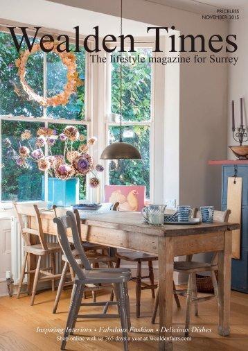 Surrey Homes | SH13 | November 2015 | Gift supplement inside