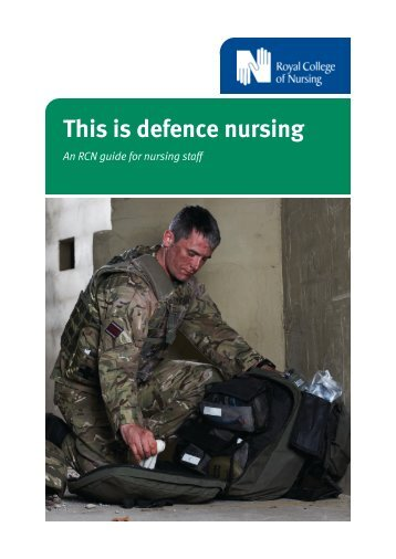 This is defence nursing