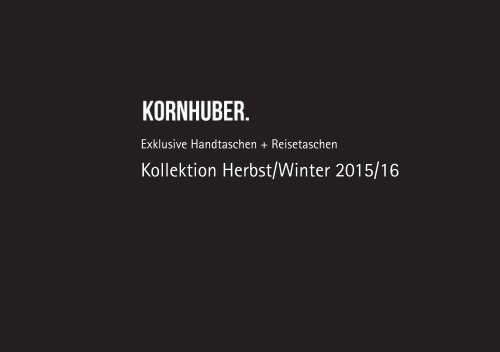 Lookbook_Kornhuber_Fall_Winter_15_16