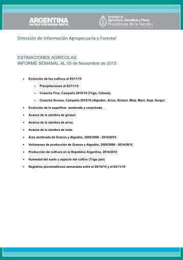 Dirección de Información Agropecuaria y Forestal
