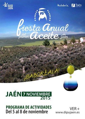 Del 5 al 8 de noviembre