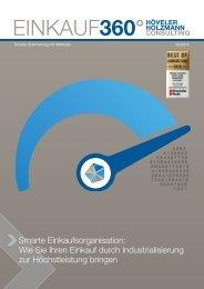 Einkauf360° – Smarte Einkaufsorganisation