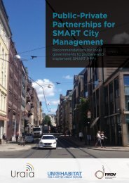 Partnerships for SMART City Management