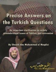 abu-muhammad-al-maqdisi-clarification-on-issues-of-takfeer-and-extremism1