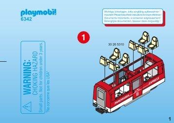 Playmobil 6342 Vagone passeggeri - Vagone passeggeri