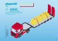 Playmobil 5467 Veicolo per trasporto eccezionale - Veicolo per trasporto eccezionale