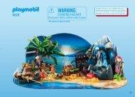 Playmobil 6625 Calendario dell'avvento Tesoro segreto dei pirati - Calendario dell'avvento Tesoro segreto dei pirati
