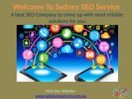 SEO Consultant Sydney | Internet Marketing | SEO Sydney