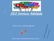 Internet Marketing Services Adelaide SEO