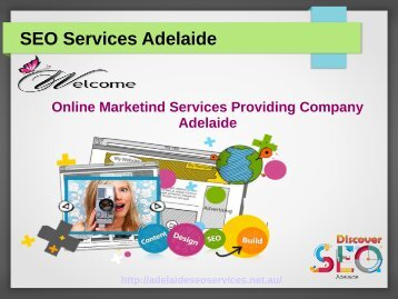 Discover SEO Services Adelaide