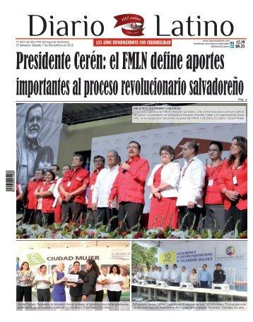 Edición 07 de Noviembre de 2015