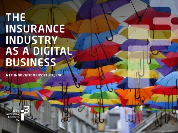 THE INSURANCE INDUSTRY AS A DIGITAL BUSINESS