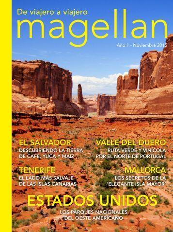 Revista de viajes Magellan - Noviembre 2015