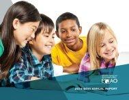2014–2015 ANNUAL REPORT