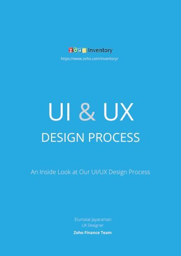 Inside look at the UI/UX Design Process