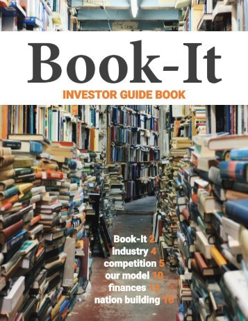 Book-It Investor Guide Book