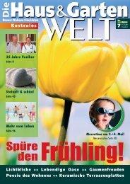 Die Haus & Garten WELT No.7 (Gestaltung by Susann Liehr)