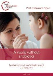A world without antibiotics
