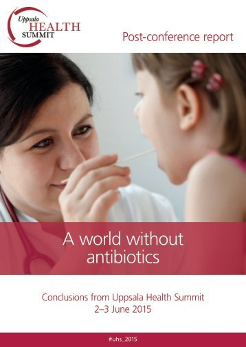 A world without antibiotics
