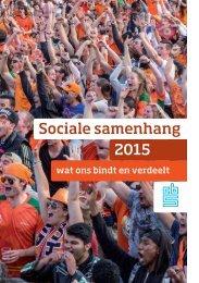 Sociale samenhang 2015