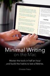 Minimal Writing on the Mac
