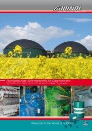 addinol - Biogas-Infoboard