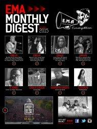 EMA - Monthly Digest - October 2015