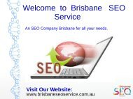 SEO Service Brisbane  | Web Marketing Experts | SEO Expert Brisbane