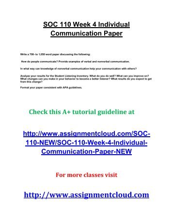 individual demonstrative communication paper - demonstrative communication is an important means of transferring information from one person to another, or a group through a means that provides context, tone, and symbolism with brevity and conciseness.