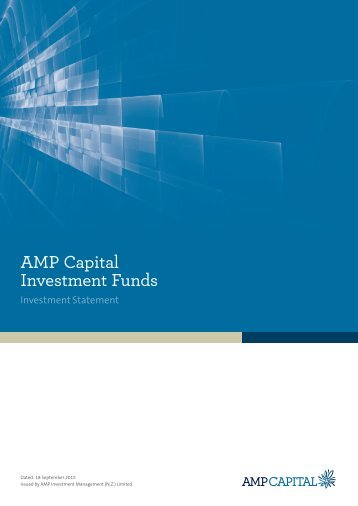 AMP Capital Investment Funds
