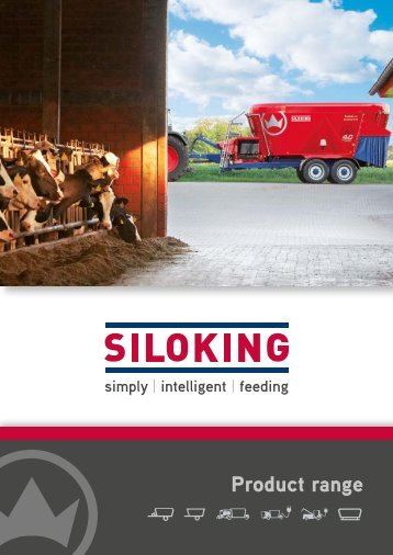 SILOKING 4.0 Vertical feed mixing technology - Product overview and technical specifications