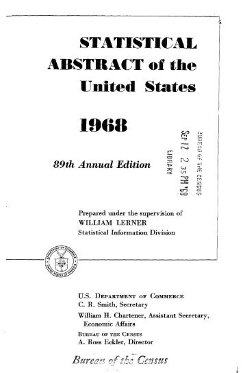 United States yearbook - 1968