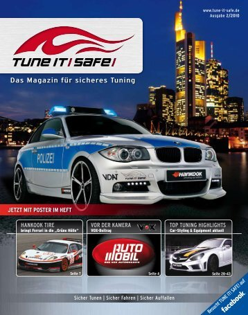HANKOOK Tire VOr der KAmerA TOp TuNiNg ... - Tune it! Safe!
