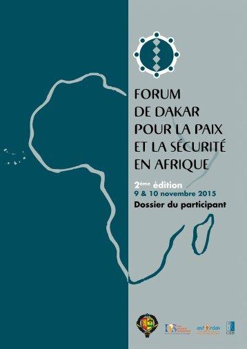 Forum de Dakar pour la paix et la sécurité en afrique