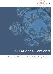 PPC Alliance Contracts