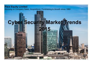 Cyber Security Market Trends 2015