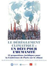CLIMATIQUE  UN DÉFI POUR L'HUMANITÉ