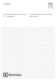 Electrolux Lavatrice a scomparsa totale LI1470E - IT Manuale d'uso in formato PDF (1192 Kb)