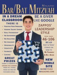 Bar Mitzvah Magazine 2016