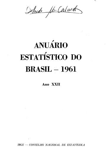 Brazil Yearbook - 1961