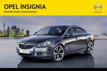 Opel Nuova Insignia MY 12.5 - Nuova Insignia MY 12.5 manuale