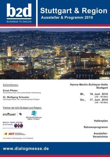 Stuttgart & Region - b2d business to dialog Hofes e.K.