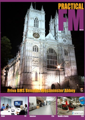 Priva BMS Benefits Westminster Abbey